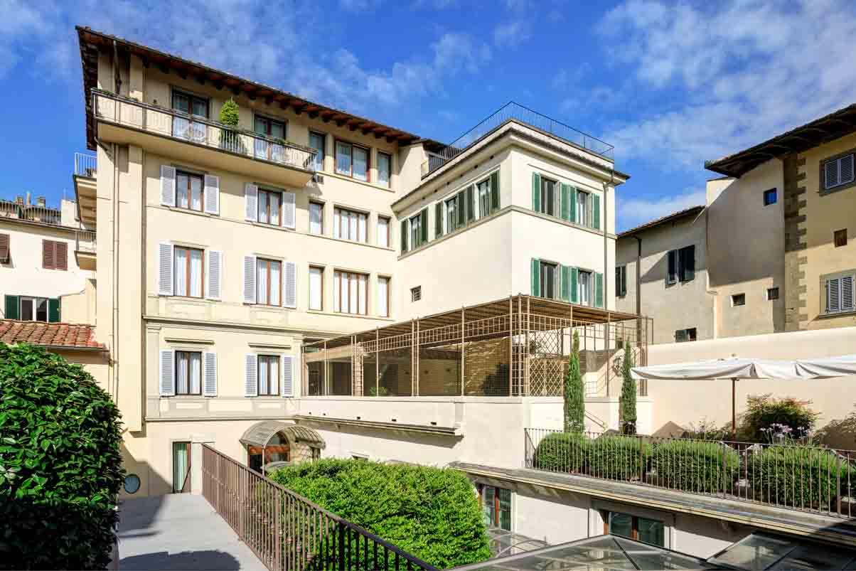 Hotel firenze centro giardino storico e terrazza panoramica for Giardino in terrazza